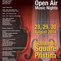 NoName @ Pristina Open Air Nights 30/08/2014