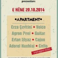 Unplugged Quartet @ Apartment 196 20/10/2014