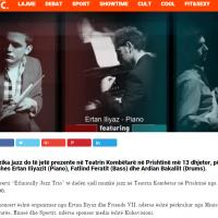 Më 13 dhjetor muzikë jazz në Teatrin Kombëtar