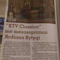 KTV CLASSICA – Ardiana Bytyqi & Friends