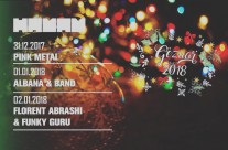 New Year Party with Albana band 01.01.2018