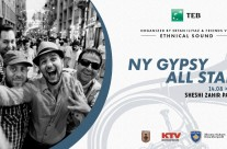 NEW YORK GYPSY ALL STARS – Balkan Bollywood feat Dukagjin Muhaxheri ( Saxophone )