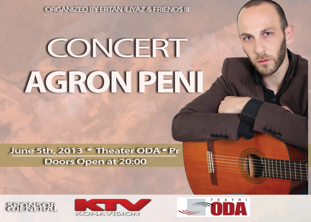 Agron Peni Concert 2013