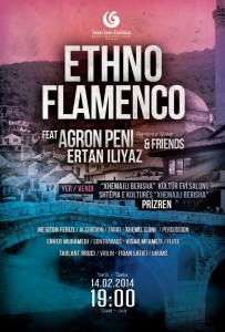 Concert ETHNO FLAMENCO feat Agron PENI