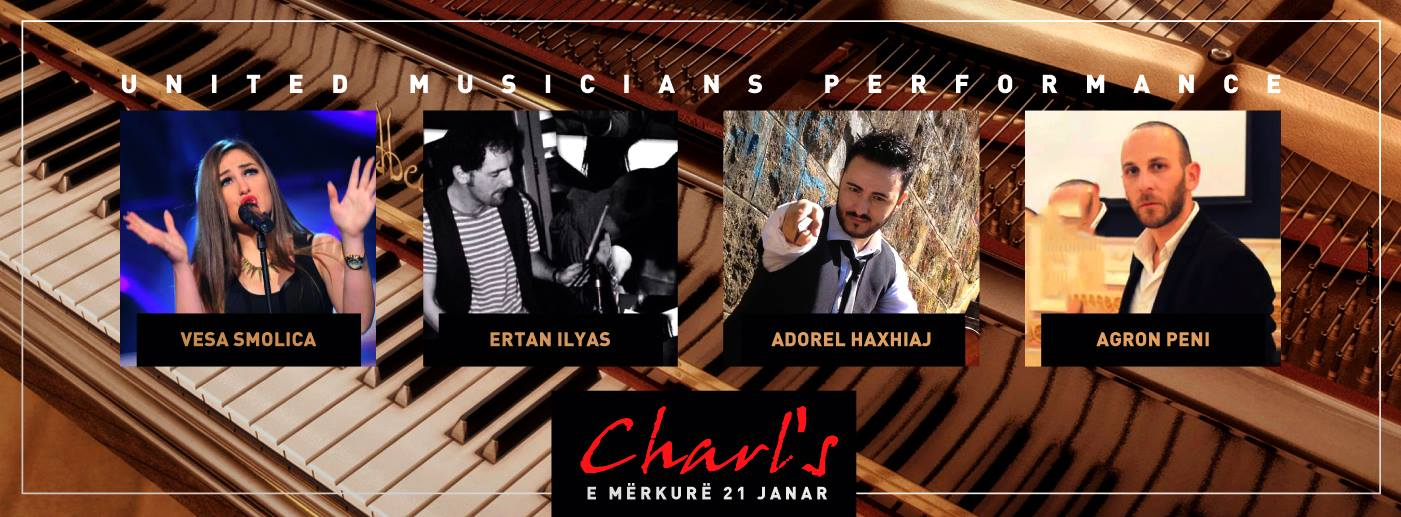 united musicians performance2 tirana charl's 21/01/2015