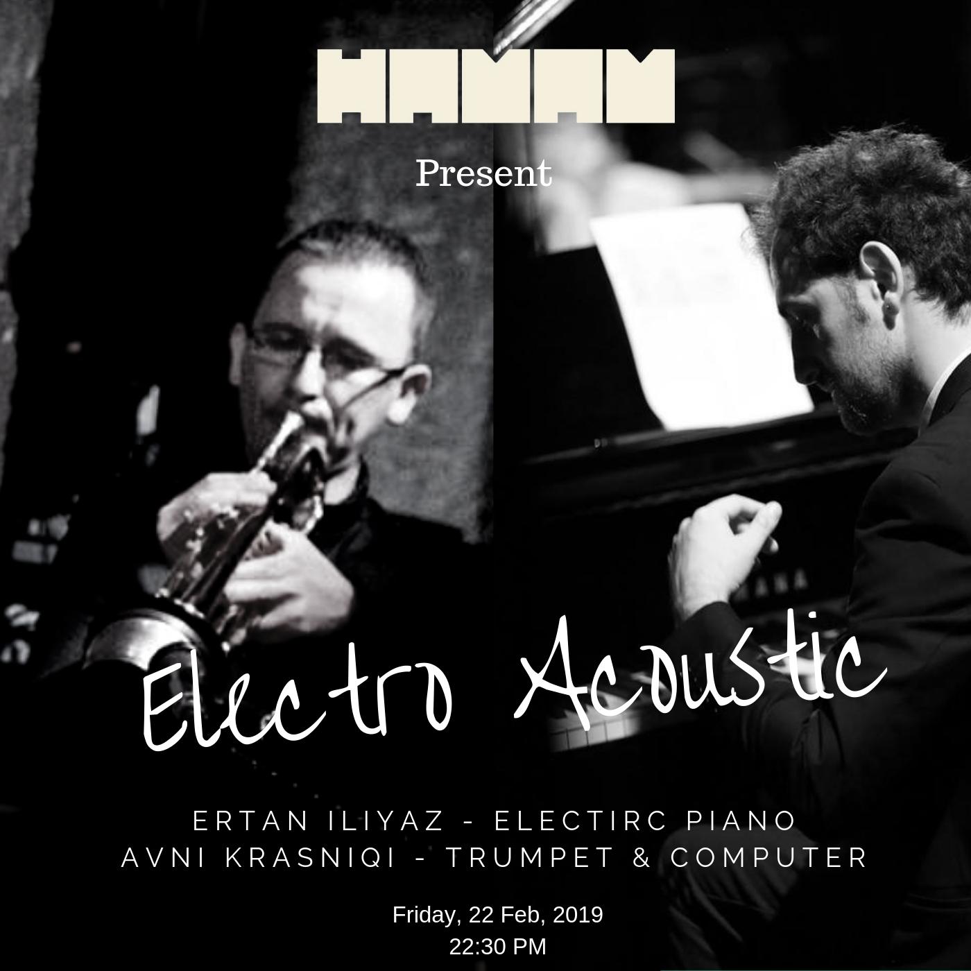 Electro Acoustic Jazz Night on Hamam Jazz Bar