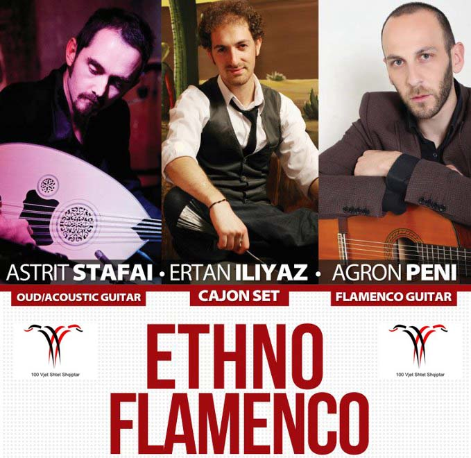 Ethno FLamenco @ Central event of Prishtina the 100th anniversary of Albanian state