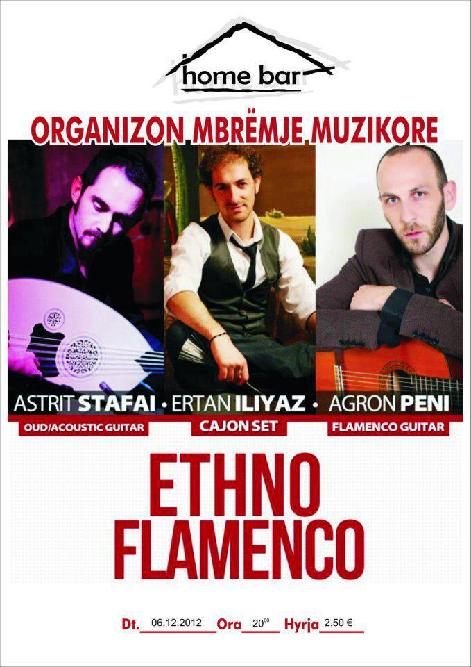 Ethno Flamenco @ Home Bar