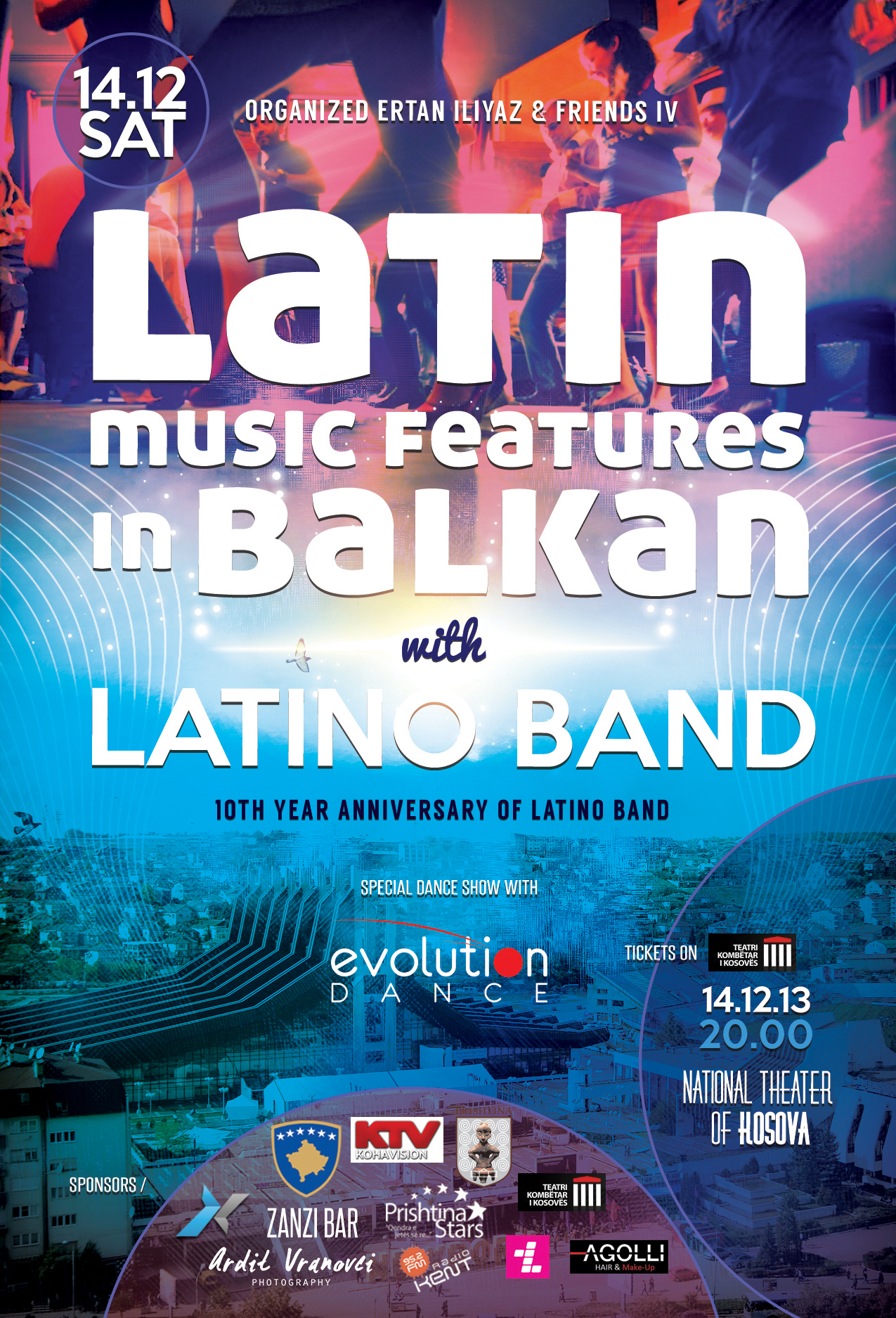 Concert Latin Music features in Balkan & Latino Band