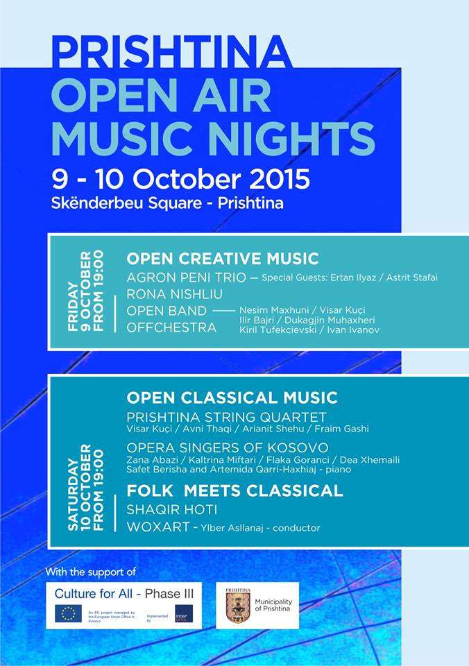 Prishtina Open Air Music Night 2015