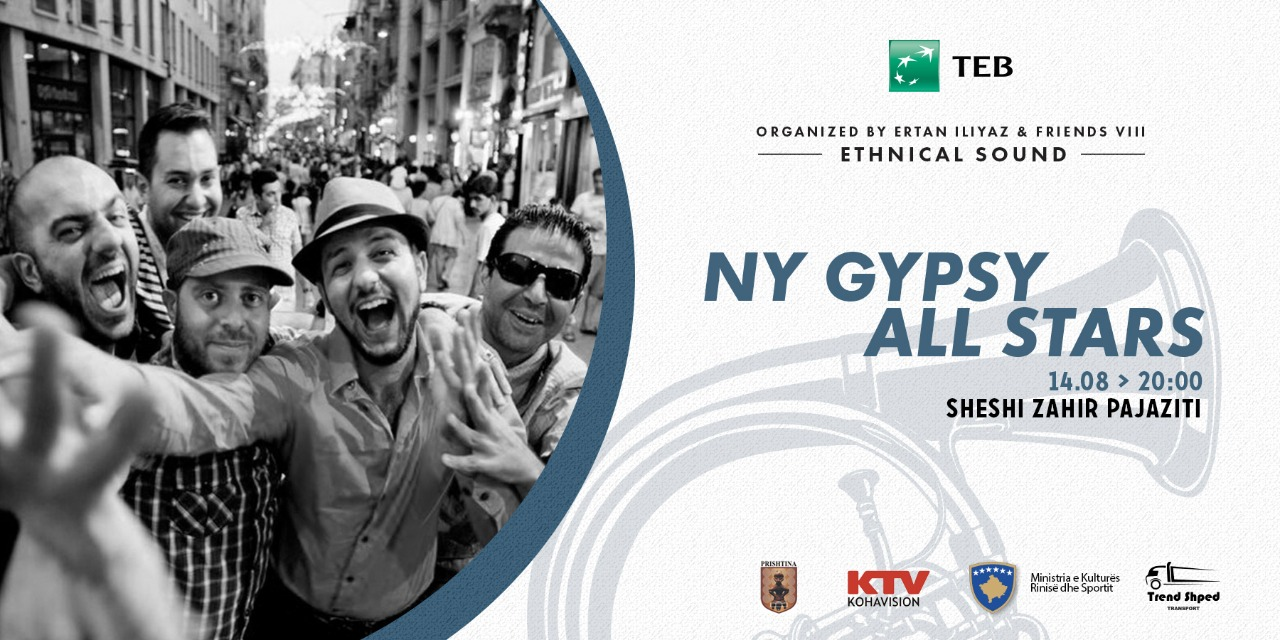 NY GYPSY ALL STARS in PRISHTINA