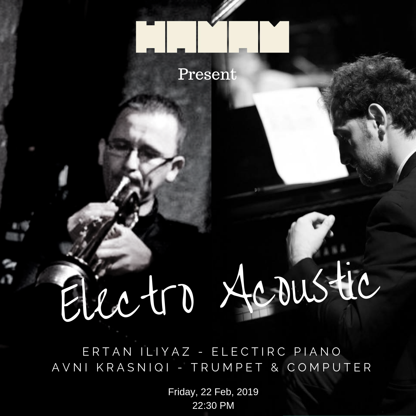 Electro Acoustic Jazz Night on Hamam Jazz Bar